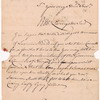 Livingston, Robert, Junr. addressed to Abraham Yetts [Yates] Junr. Esqr., High Sheriff for the City and County of Albany