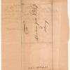 Swart, Dirck, addressed to Abraham Yates Junr, Esqr. at Albany