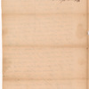 Murray, Joseph, addressed to William Corry Esquire, Attorney at Law in Albany