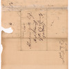 Livingston, Robert, Junr., addressed to Abraham Yetts [Yates] Esqr., High Sheriff of the City and County of Albany