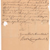 Livingston, Robert, Junr., addressed to Abraham Yetts [Yates] Esqr., High Sheriff for the City and County of Albany