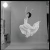 Virginia Johnson leaping
