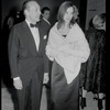 George Balanchine with Suzanne Farrell at the Midsummer Night's Dream film premiere