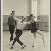 New York City Ballet rehearsal which includes both George Balanchine and Jacques D'Amboise