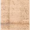 Livingston, Robert, Junr., addressed to Abraham Yates Junr