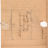 Livingston, Robert, Junr., addressed to Abraham Yates Junr. Esqr., High Sheriff for the City and County of Albany
