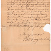 Livingston, Robert, Junr., addressed to Abraham Yates Esqr., High Sheriff of City and County of Albany