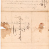 Livingston, Robert, Junr., addressed to Abraham Yates Junr. Esqr. at Albany