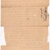 Livingston, Robert, Junr., to Abraham Yates Junr