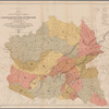 """Map of the former territorial limits of the Cherokee """"Nation of"""" Indians: exhibiting the boundaries of the various cessions of land made by them to the Colonies and to the United States by treaty stipulations, from the beginning of their relations with the whites to the date of their removal west of the Mississippi River"""