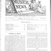 Musical news, Vol. 1, no. 19