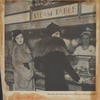 Clipping of women in furs at the automat from Serenade magazine