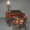 Charles Dickens' desk, writing slope, slope, and chair