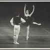 Gelsey Kirkland and Helgi Tomasson in George Balanchine's Don Quixote