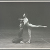 Carolyn Brown and Merce Cunningham in Cunningham's Suite for Five