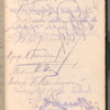 Autograph album from the signing of the Treaty of Riga