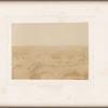 Désert de l'isthme de Sueze, vue prise sur les dunes de sables
