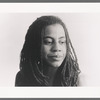 Publicity photograph of Suzan-Lori Parks during stage production Topdog/Underdog
