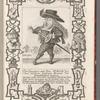 Don Guappos, von dem Geblüth des Don Quixote, heutiger General der Französischen Spanier, Pl. 10