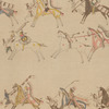 Native American ledger painting