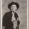 Jimmy Durante (as Claudius B. Bowers) in the stage production Jumbo