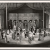 Scene showing set design by Albert Johnson in the stage production Jumbo