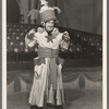 Jimmy Durante [as Claudius B. Bowers] in the stage production Jumbo