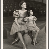 Gloria Grafton and Sybil Elaine in the stage production Jumbo