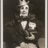A. Robins [as rodeo clown] in the stage production Jumbo