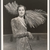 Unidentified showgirl in the stage production Jumbo