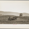 Fertilizing a field. Vermont.