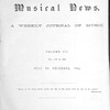 Musical news, Vol. 7, Index, July to December, 1894