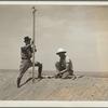Surveyors on a stock water dam. Dawes County, Nebraska.