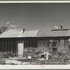 A homestead on poor farmland that is now public domain. Pennington County, South Dakota.