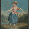 Madame Placide in the title role of Rosetta in Alexandre Placide's staging of the ballet The Bird Catcher