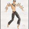Dancin': Costume sketch for Percussion - Calypso, SK #37