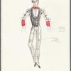 Dancin': Untitled costume sketch, likely for Mr. Bojangles