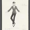 Dancin': Costume sketch for Mr. Bojangles - Spirit, SK #17
