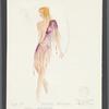 Dancin': Costume sketch for Sandahl Bergman (Joint Endeavors), SK #25