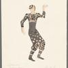 Dancin': Costume sketch for Percussion