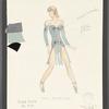 Dancin': Costume sketch for Sing Sing (Gail Benedict), SK #51