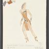 Dancin': Costume sketch for Sing Sing (Vicki Frederick), SK #53