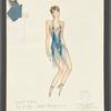 Dancin': Costume sketch for Sing Sing (Ann Reinking), SK #54