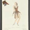 Dancin': Costume sketch for Sing Sing (Sandahl Bergman), SK #55