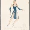 Dancin': Costume sketch for Sing Sing (Valerie Miller)