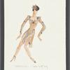 Dancin': Costume sketch for Rampulsi, Sing Sing Sing