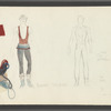 Dancin': Costume sketches for Elaine Savage, 14