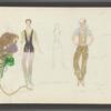 Dancin': Costume sketches for Rene Ceballos, 4