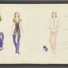 Dancin': Costume sketch for Crunchy (Linda Haberman), 9