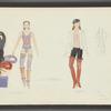 Dancin': Costume sketches for Crunchy (Vicki Frederick), 8
